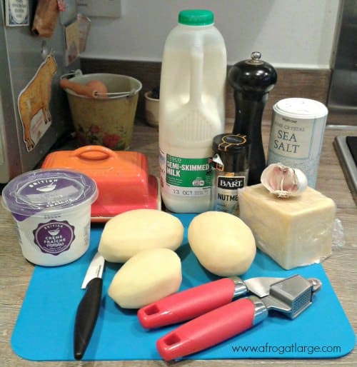 gratin dauphinois ingredients