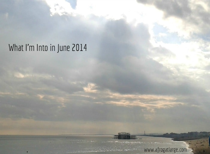 Brighton pier; what I'm into; June 2014