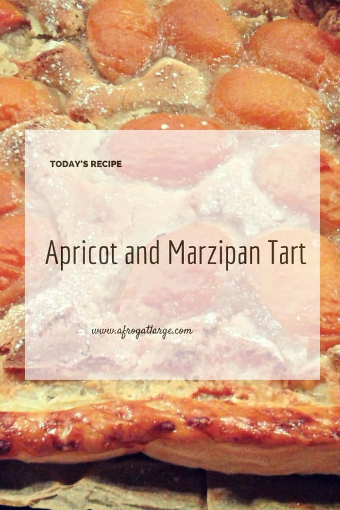 apricot marzipan tart