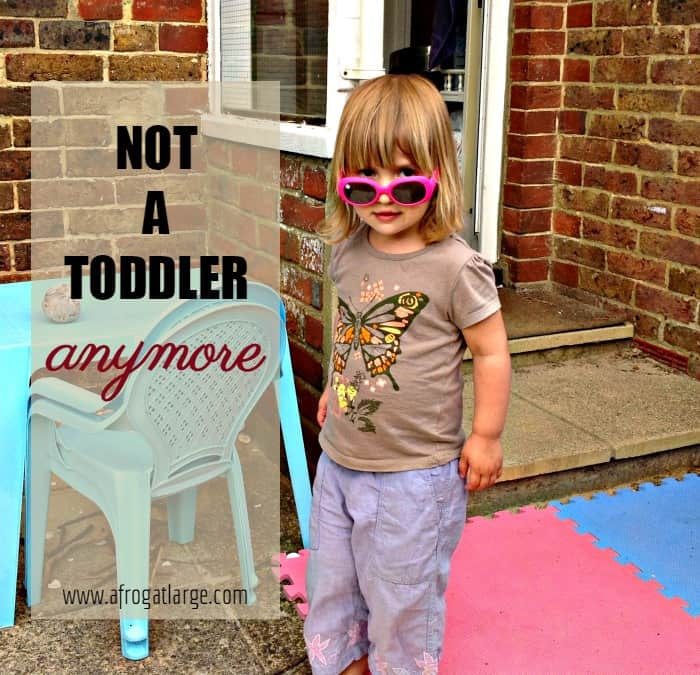 not a toddler in sunglasses