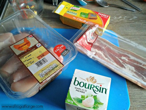 Boursin chicken recipe ingredients