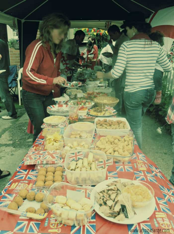 street party food