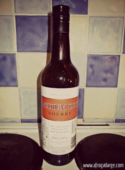 sherry xeres bottle