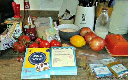 biryani ingredients