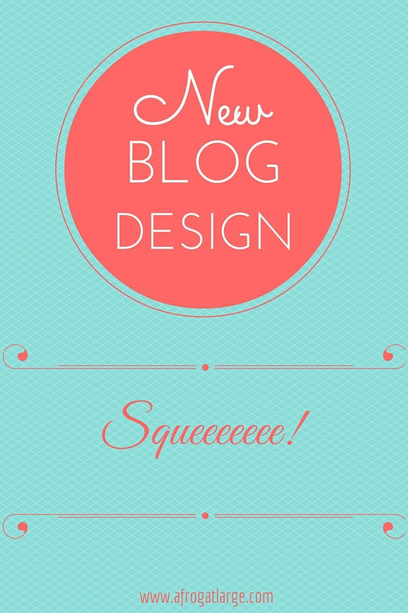 One for the geeks: New Blog Design
