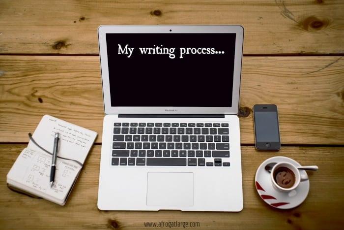 writing process blogging