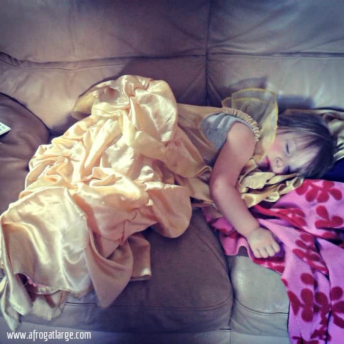 sleeping belle princess