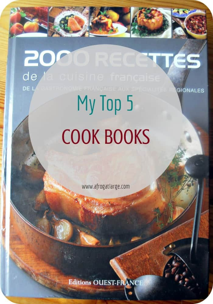 Listography – Top 5 Cookbooks