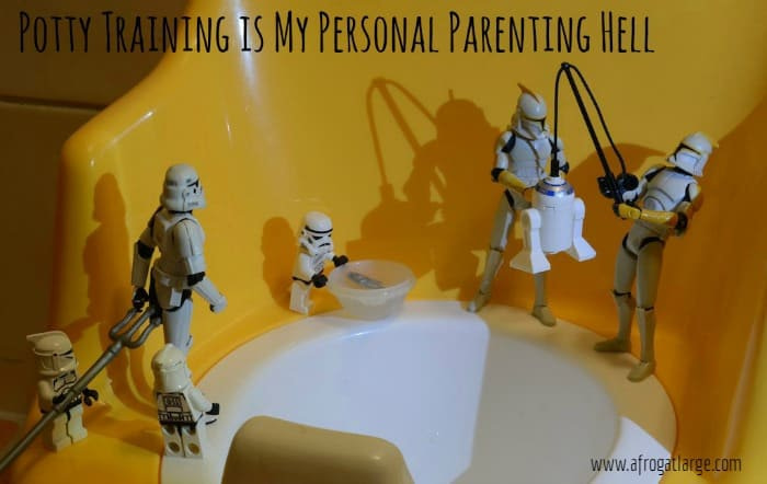 Potty Training is my personal parenting hell