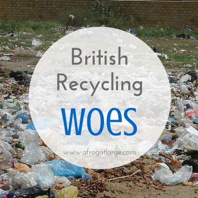 British recycling woes