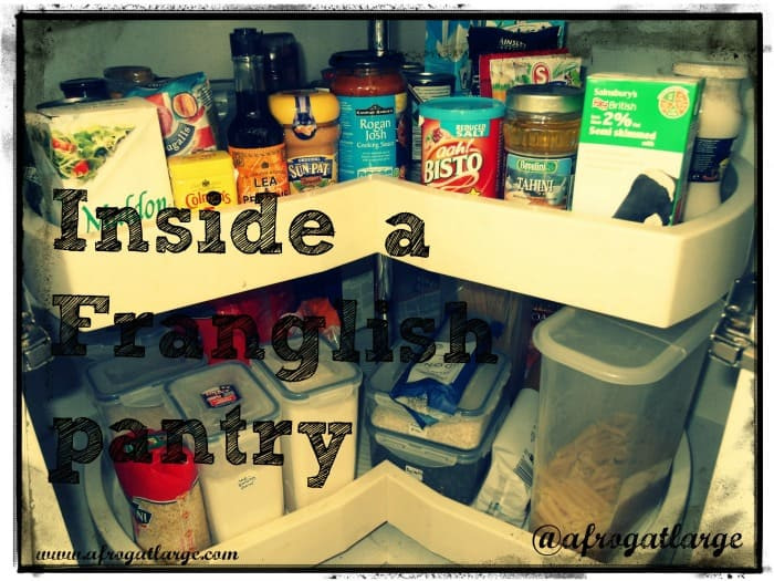 French English pantry recipes