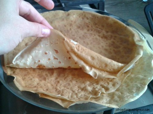 what a crepe looks like
