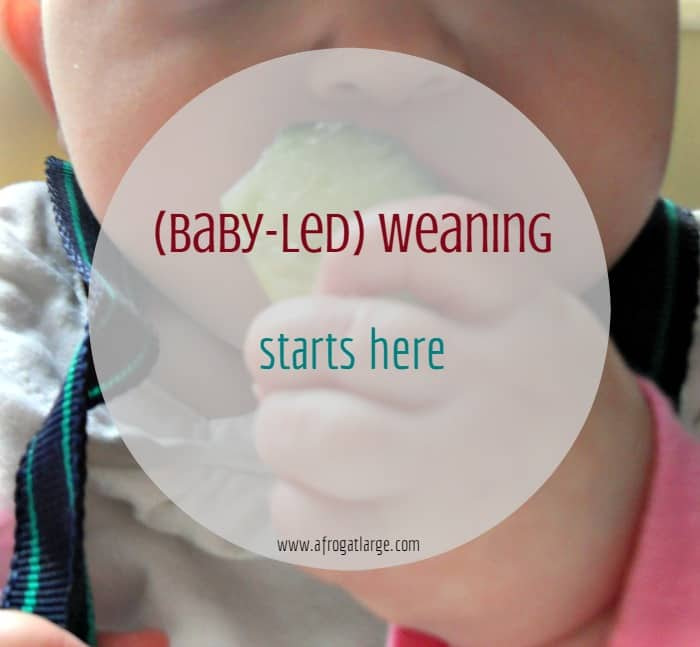 Weaning starts here